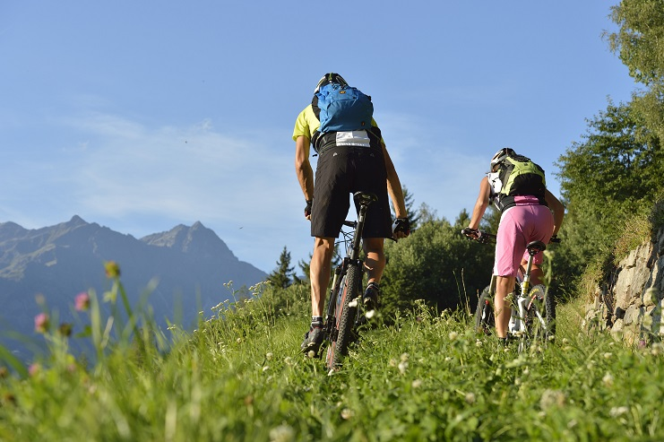 Shooting TM Naturns Mountainbike Brand Abend Manuela Christian 17-08-2012